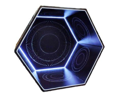 Большой зеркальный калейдоскоп