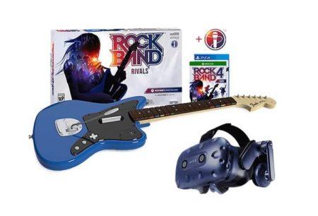 VR гитара Rock Band