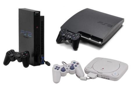 PlayStation 1, 2, 3